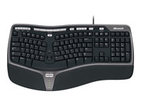 Natural Ergonomic Keyboard 4000 Win32 USB Port Czech Hdwr CD Bla