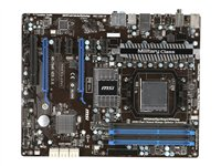 MSI, Mainboard 990FXA-GD65 / AMD 990FX + SB950 / socket AM3+ / 2