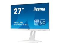 iiyama ProLite B2791HSU-W1 27 Inch Full HD, White, HDMI, Display Port, USB Hub, Height Adjustable