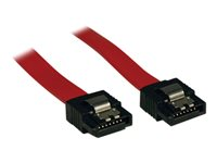 Tripp Lite 1ft Serial ATA SATA Latching Signal Cable 7Pin / 7Pin M/M 1'