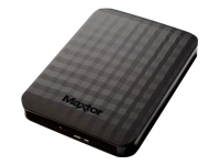 Maxtor M3 STSHX-M500TCBM Harddisk 500 GB ekstern (bærbar) USB 3.0 sort