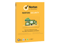 Norton Security (v. 2.0) abonnementskort (1 år) 5 enheder (DVD sleeve)