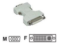 MCL Samar - Adaptateur vidéo - HD- 15 (M) pour DVI- I (F) - Sachet