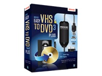Roxio Easy VHS to DVD 3 PLUS - ensemble de boîtes