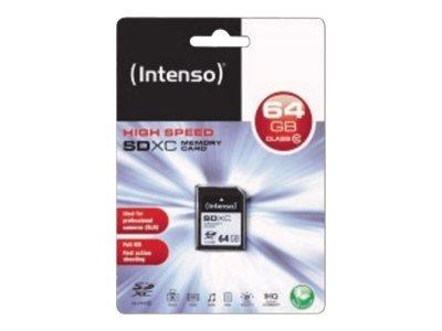 Intenso   flash memory card   64 GB   SDXC