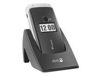 Doro Primo 413 - noir - GSM - téléphone mobile