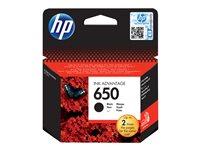 HP 650 Black Ink Cartridge EU