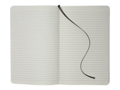Moleskine Large - Carnet - 130 x 210 mm - 192 pages - ligné - noir