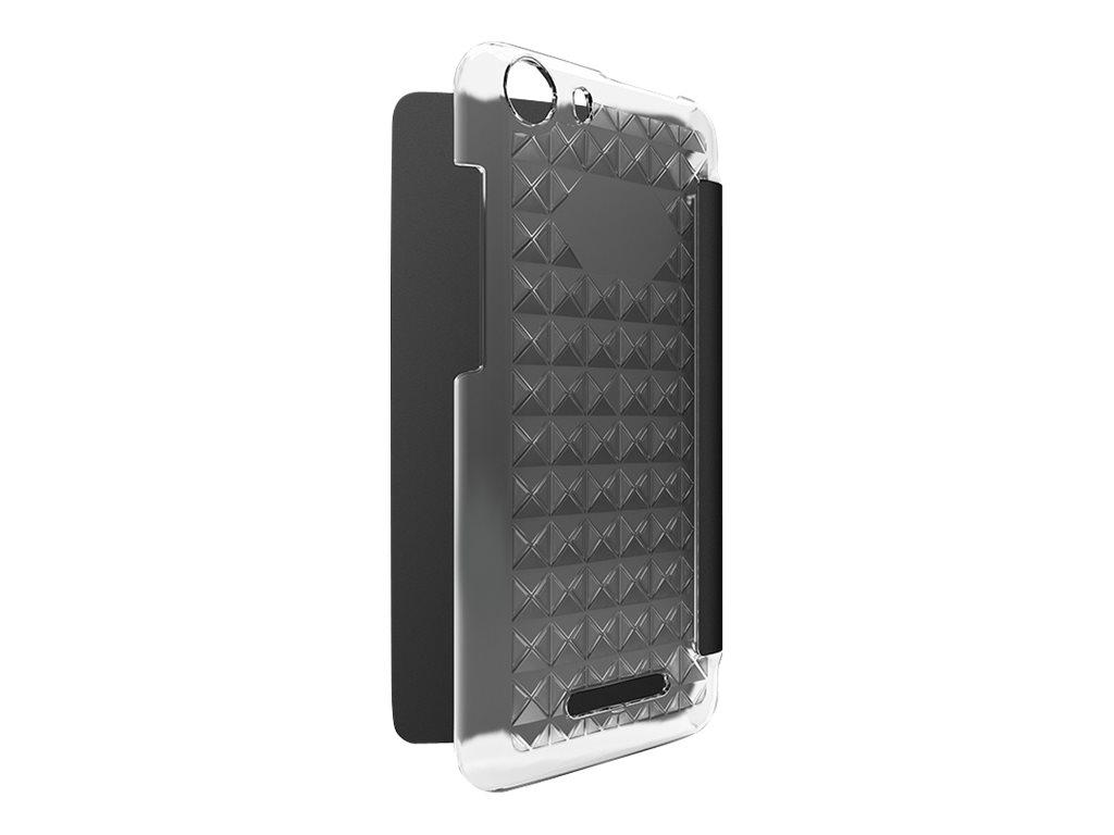Wiko Folio Diamonds protection à rabat pour téléphone portable
