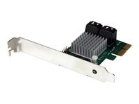 StarTech.com Carte controleur PCI Express RAID à 4 ports SATA 6 Gb/s - Carte PCIe 4 ports SATA III 4 independants avec HyperDuo