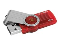 Mem USB  8Gb KIN Data Trav DT101 G2 Rjo