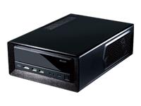 Antec ISK300-150 - ordinateur de bureau à faible encombrement - mini ITX