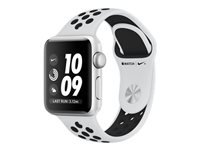 Apple Watch Nike+ Series 3 (GPS) 42 mm sølvaluminium
