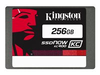 Kingston SSDNow KC400 Upgrade Bundle Kit - Solid state drive - 256 GB
