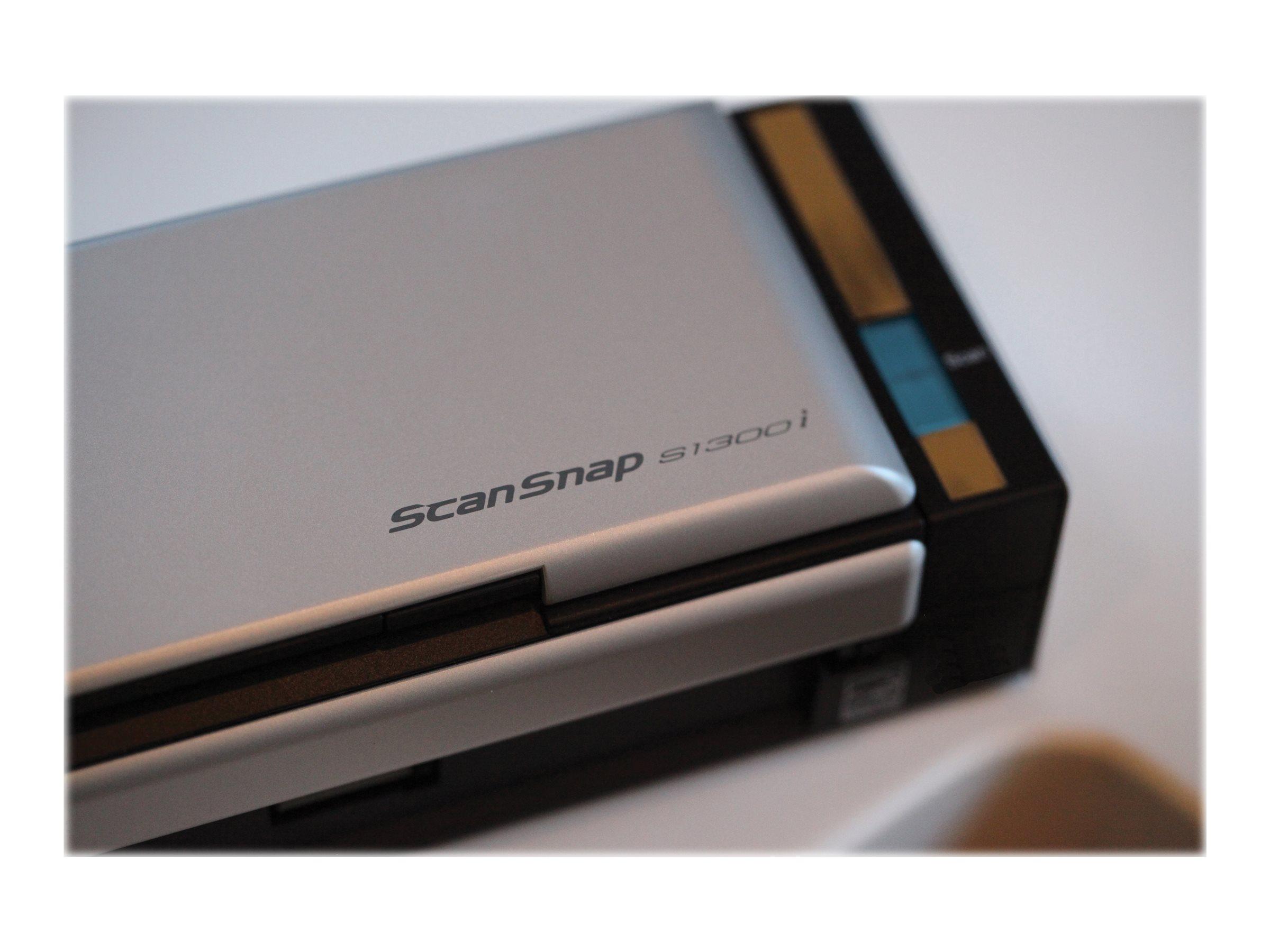 Fujitsu ScanSnap S1300i - document scanner - portable - USB 2.0 ...