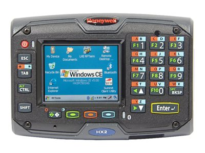 "Honeywell HX2 - Data collection terminal - Windows CE 5.0 Professional Plus - 512 MB - 2.5"" color TFT (320 x 240) - USB host - Wi-Fi, Bluetooth"
