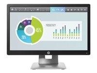 HP EliteDisplay E202 - LED monitor - 20