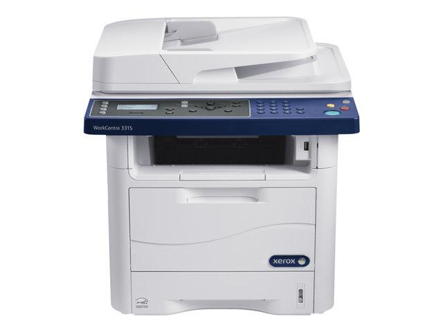 Image of Xerox WorkCentre 3315V_DN - multifunction printer ( B/W )