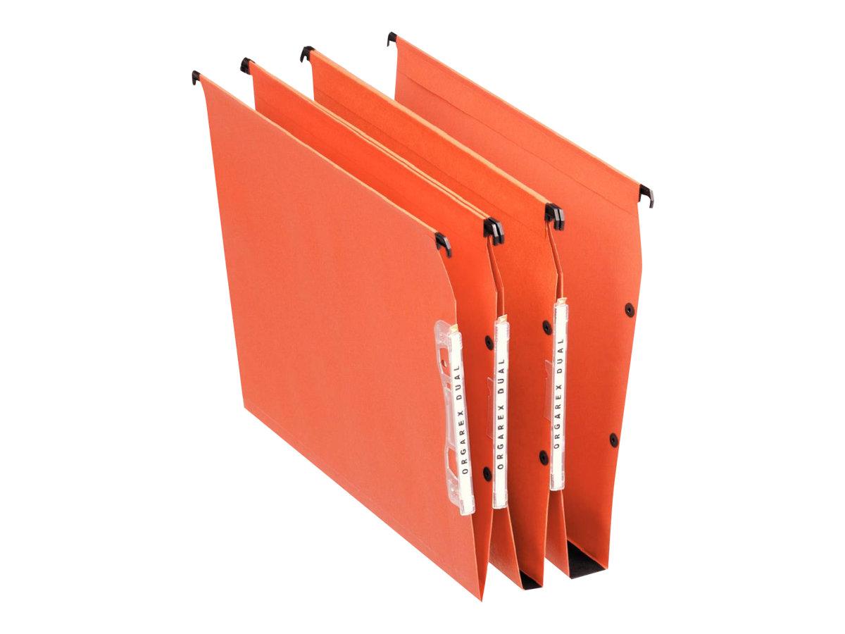 Esselte Orgarex Dual - 25 Dossiers suspendus - Pour armoire - fond 30 mm