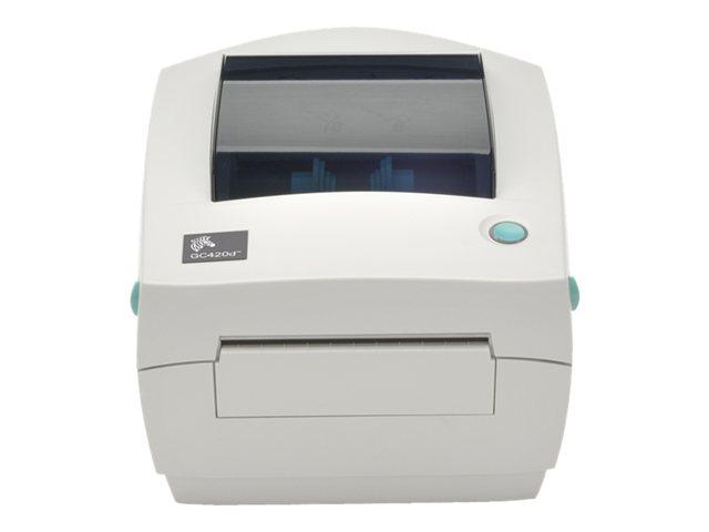 Image of Zebra G-Series GC420d - label printer - monochrome - direct thermal