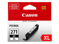 Canon CLI-271XL BK - Black - original - ink tank - for PIXMA MG5720, MG5721, MG5722, MG6821, MG6822, MG7720, TS5020, TS6020, TS8020, TS9020