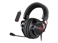 Creative Sound BlasterX H7 - Tournament Edition - headset - full size - USB, 3.5 mm jack