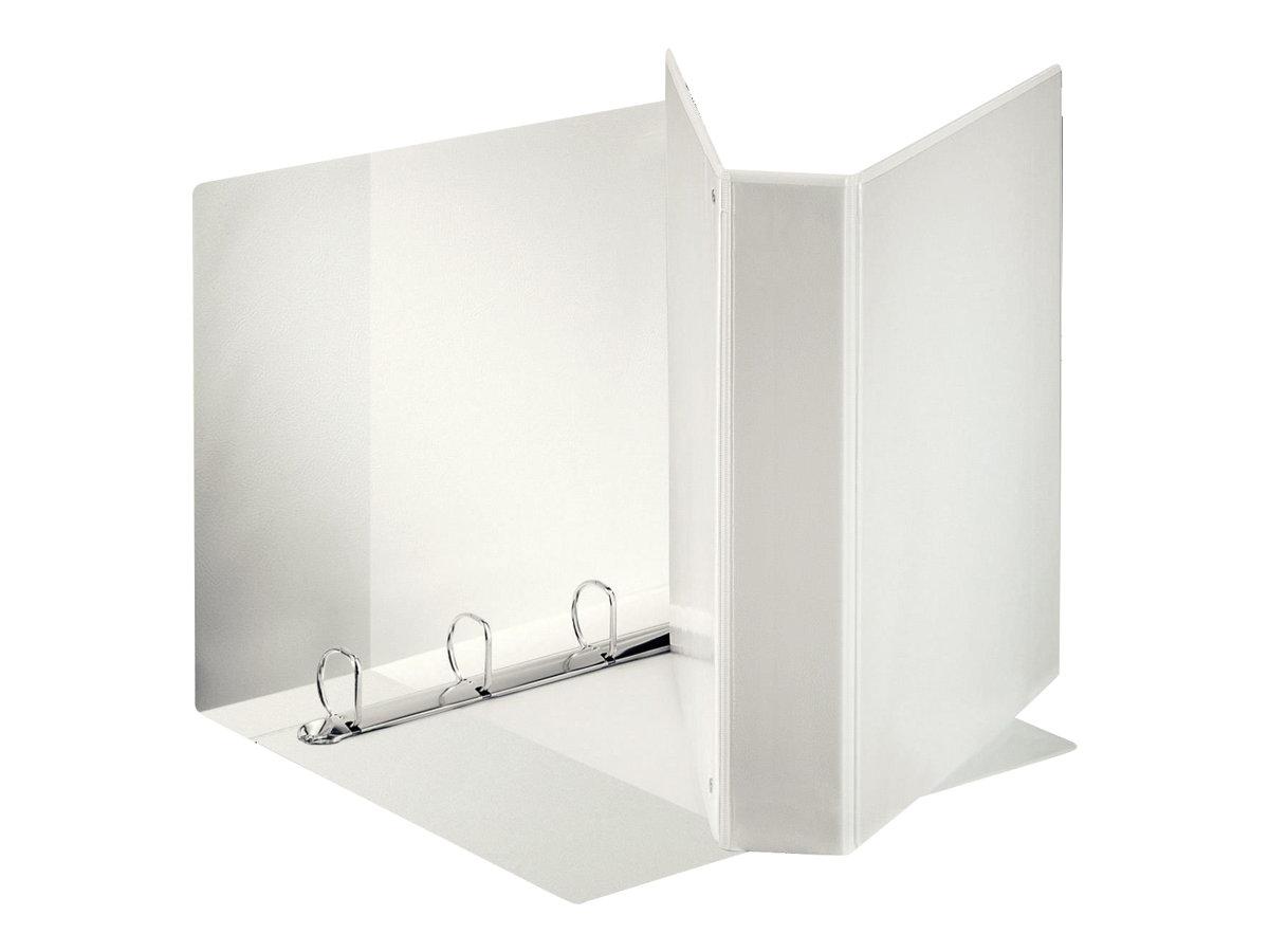 Esselte Panorama - Classeur à anneaux personnalisable - 76 mm - A4 Maxi - pour 500 feuilles - blanc
