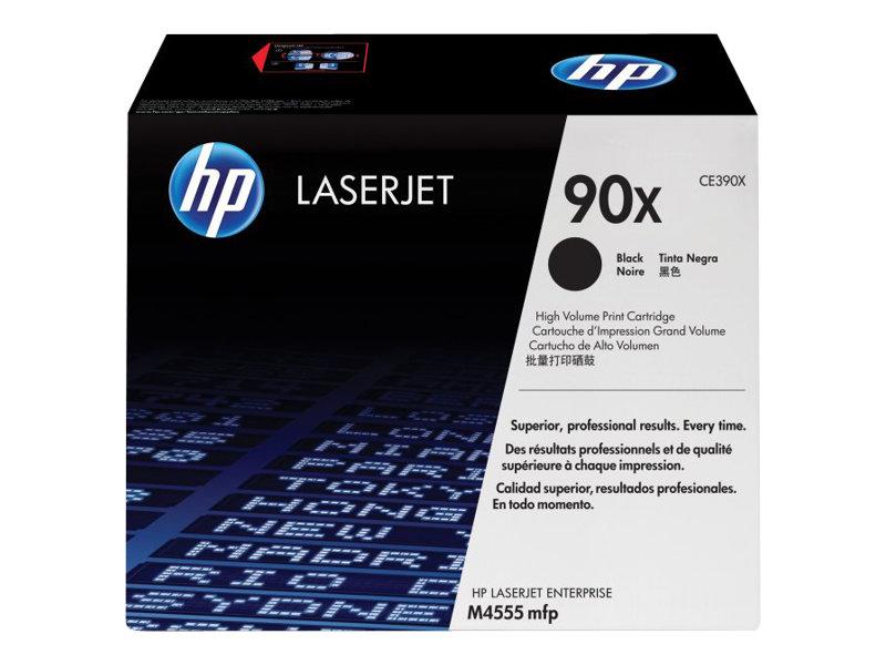 HP 90X - à rendement élevé - noir - original - LaserJet - cartouche de toner ( CE390X )