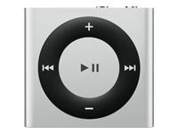 Apple iPod shuffle 4. generation digital afspiller 2 GB sølv