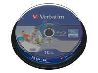 Verbatim DataLife - BD-R x 10 - 25 Go - support de stockage