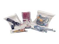 Carton Plus Ecoclip - Pochettes zippées d'emballage - pression - par 100 ou par 1000 - différentes dimensions disponibles