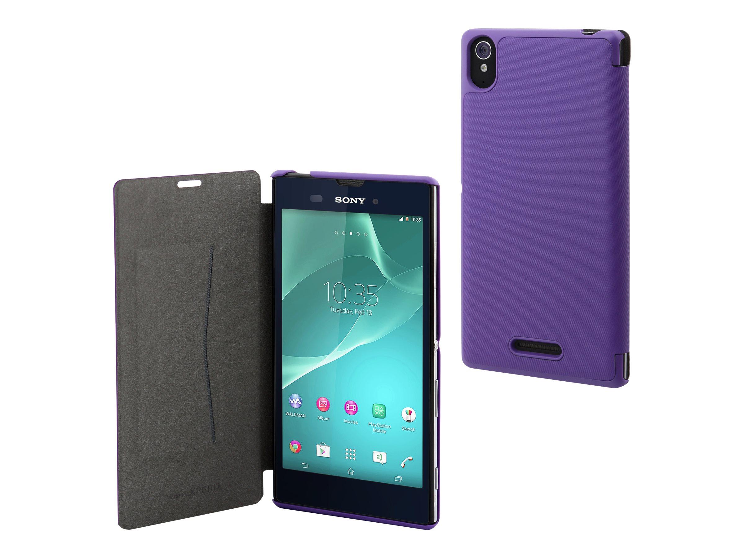 Muvit MFX ultra slim folio protection à rabat pour téléphone portable