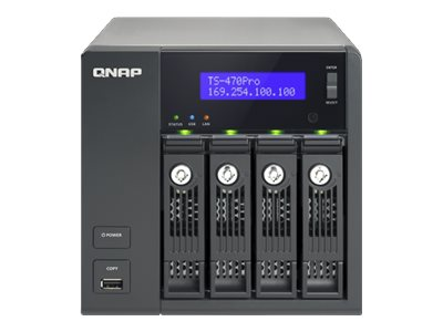 QNAP TS 470 Pro   NAS server   20 TB