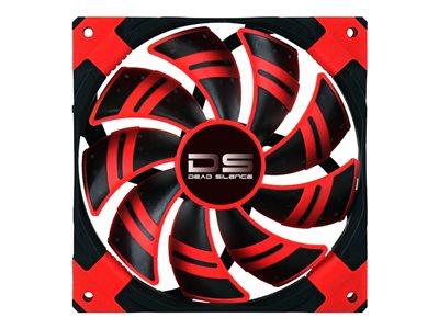 Ventilador AeroCool Dead Silence Red Edition