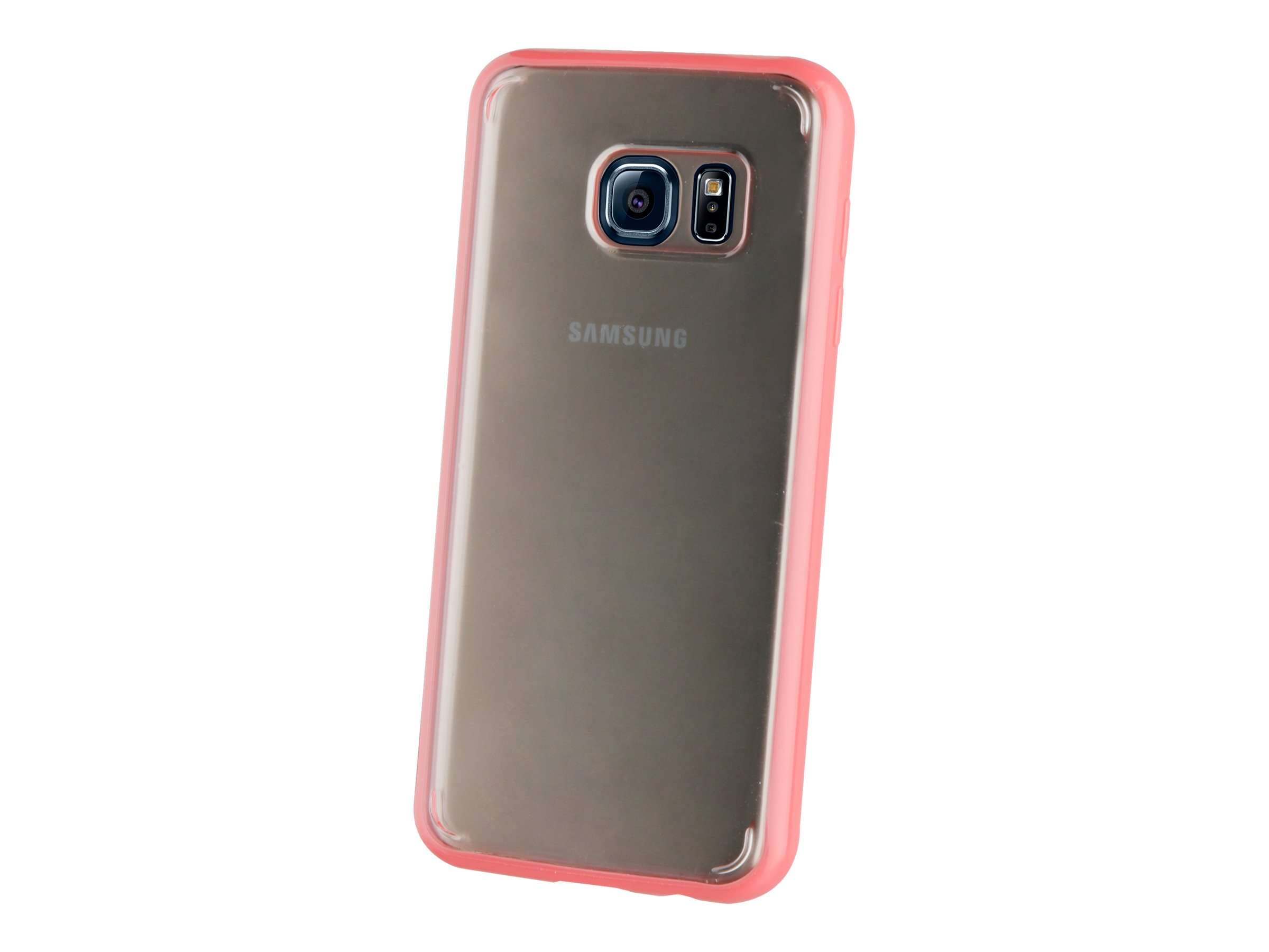 Muvit Crystal Bump - Coque de protection pour Samsung Galaxy S7 - transparent, rose