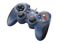 Logitech Gamepad F310 Gamepad 10 knapper kabling for PC