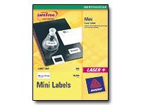 Avery JamFree Laser+ - étiquettes adresses - 4000 unités
