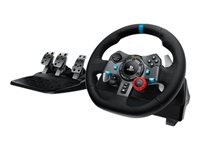 Logitech G29 Driving Force Rat og pedalsæt kabling
