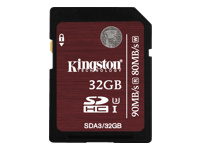 Kingston - carte mémoire flash - 32 Go - SDHC UHS-I