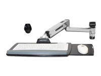 Ergotron LX Sit-Stand Wall Mount Keyboard Arm - montage mural