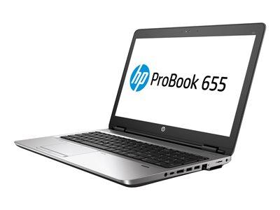 "HP ProBook 655 G3 - A10 PRO-8730B / 2.4 GHz - Win 10 Pro 64-bit - 8 GB RAM - 256 GB SSD SED, TCG Opal Encryption 2, TLC - DVD SuperMulti - 15.6"" 1920 x 1080 (Full HD) - Radeon R5 - Wi-Fi, NFC, Bluetooth - kbd: US"