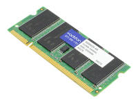 AddOn 512MB DDR-266MHz SODIMM for Gateway 5000639