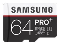 SAMSUNG, Micro SD Card PRO+64GB