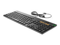 HP Conferencing - Keyboard - USB - US - for HP 260 G2; Elite Slice, Slice for Meeting Rooms; Spectre Pro 13 G1; Stream Pro 14 G3