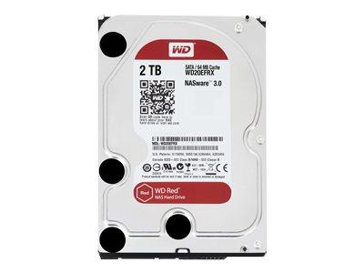 Western Digital 2TB Red 64MB 3.5 Desktop Sata 6GB