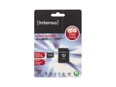 Intenso   flash memory card   64 GB   microSDXC