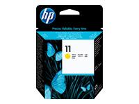 HP 11 - jaune - tête d'impression
