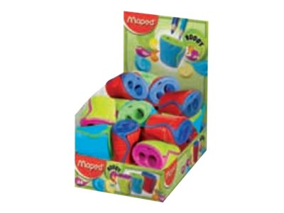 Maped Boogy - Taille- crayon - 2 trous - assortiment