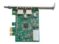 Image of C2G 2-Port USB 3.0 SuperSpeed PCI-E Card - USB adapter
