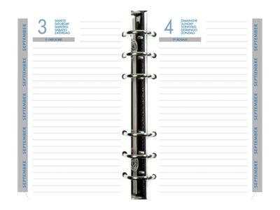 Exacompta - Recharge pour organiseur - 1 jour par page - 105 x 172 mm